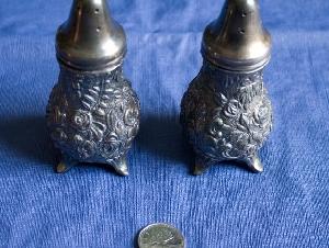 藏品,古董,镀银器。