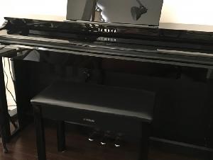 转让雅马哈电钢琴CLP525 9成9新 YAMAHA