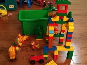 乐高儿童拼插玩具 积木