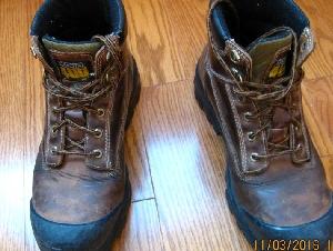 男式 真皮安全鞋