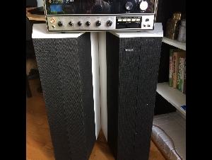 一对英国Goodsman音响和扩音器 和 CD player