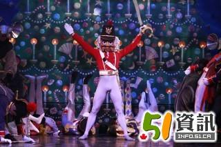 莫斯科大剧院芭蕾舞团带来经典舞剧 胡桃夹子
